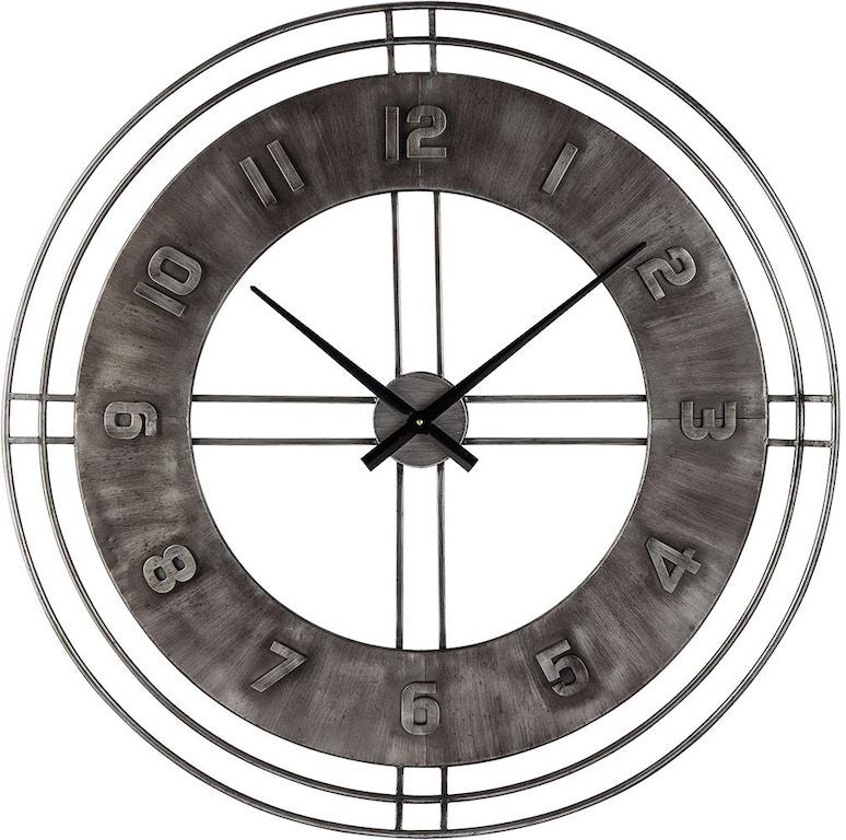 Signature Design By Ashley Accessories Ana Sofia Wall Clock A8010068 Markson S Furniture