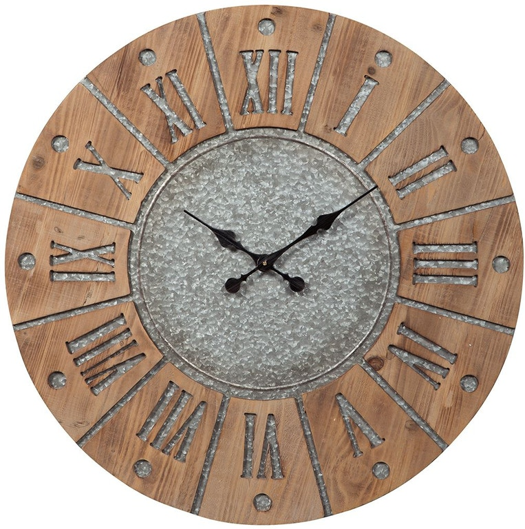 Signature Design By Ashley Accessories Payson Wall Clock A8010076 Markson S Furniture