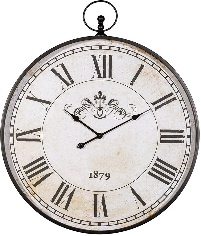 Signature Design By Ashley Accessories Augustina Wall Clock A8010110 Markson S Furniture