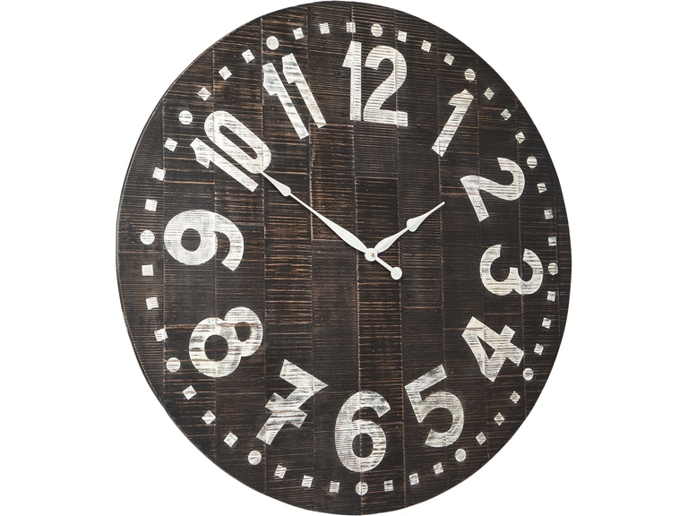 Signature Design By Ashley Accessories Brone Wall Clock A8010167 Markson S Furniture Rochester