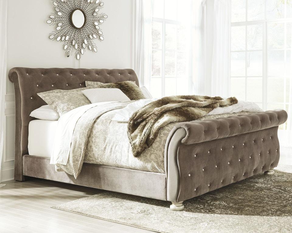 Signature Design By Ashley Bedroom Cassimore King Upholstered Bed B750b10 Turner Furniture