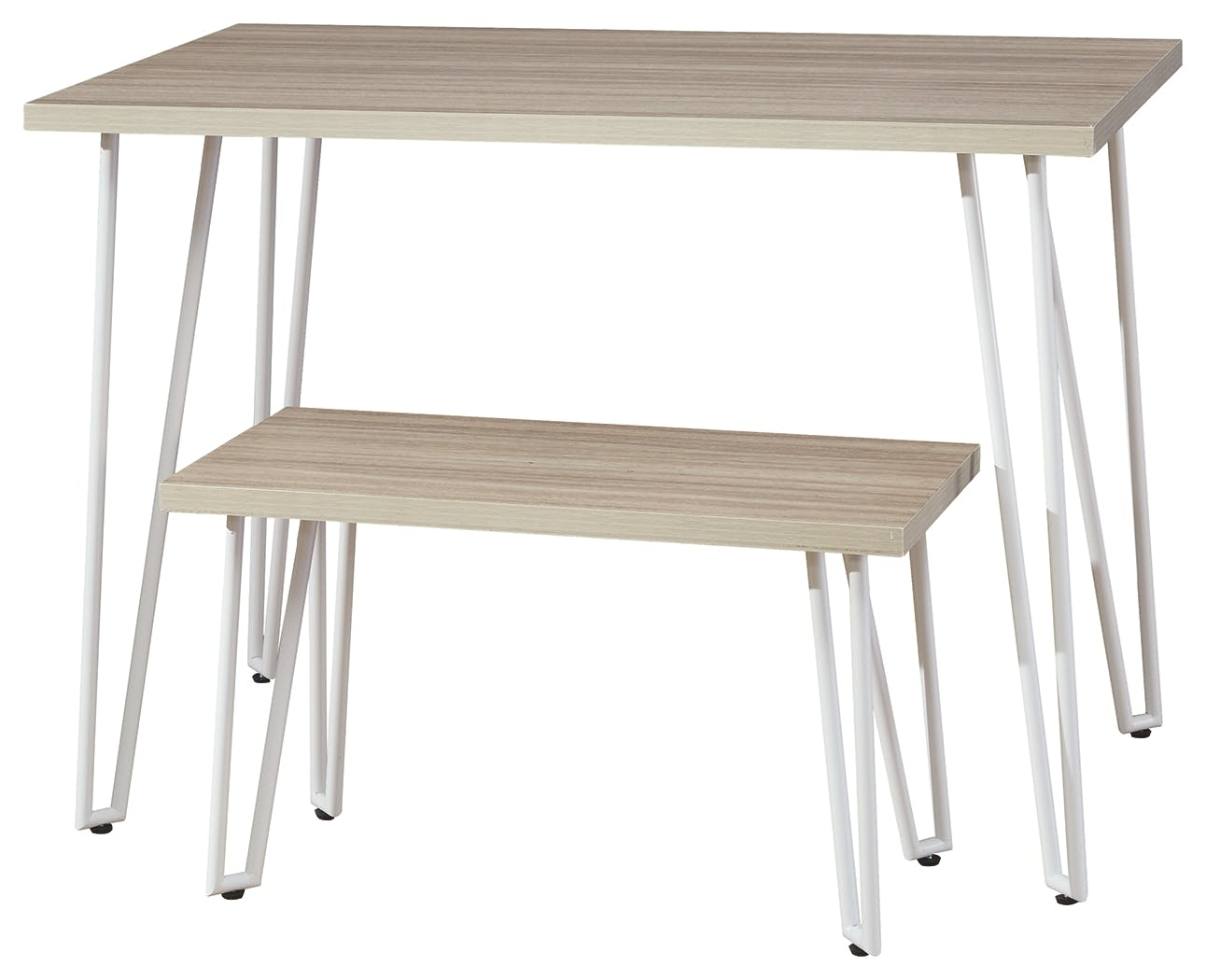 Image of: Signature Design By Ashley Living Room Blariden Desk With Bench B008 201 T H Perkins Furniture
