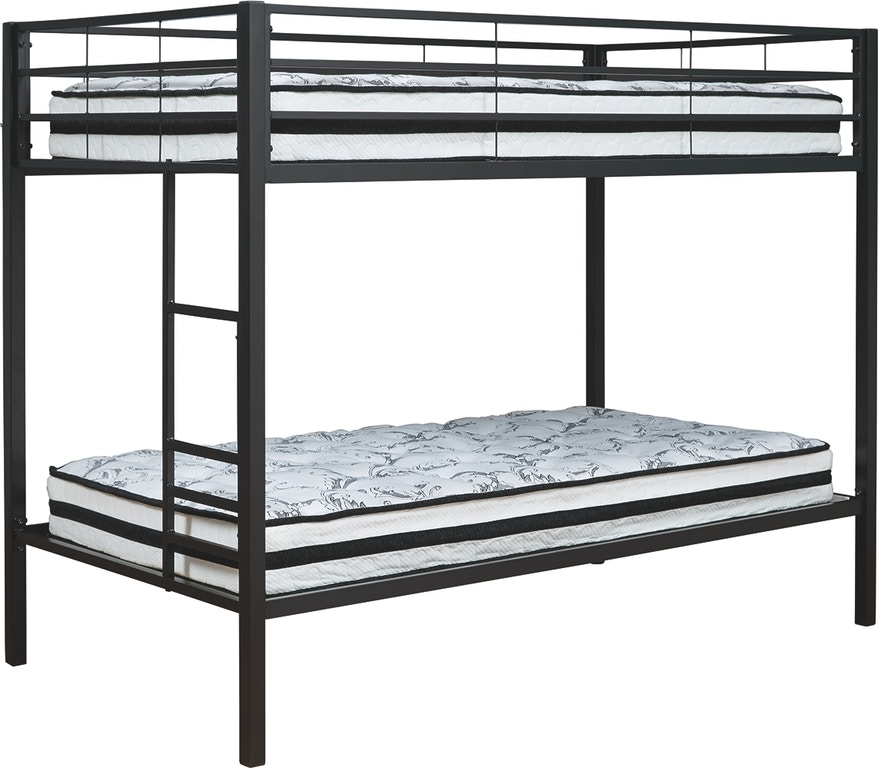 Shop Our Broshard Twin Over Twin Metal Bunk Bed By Signature Design By Ashley B075 159 Joe