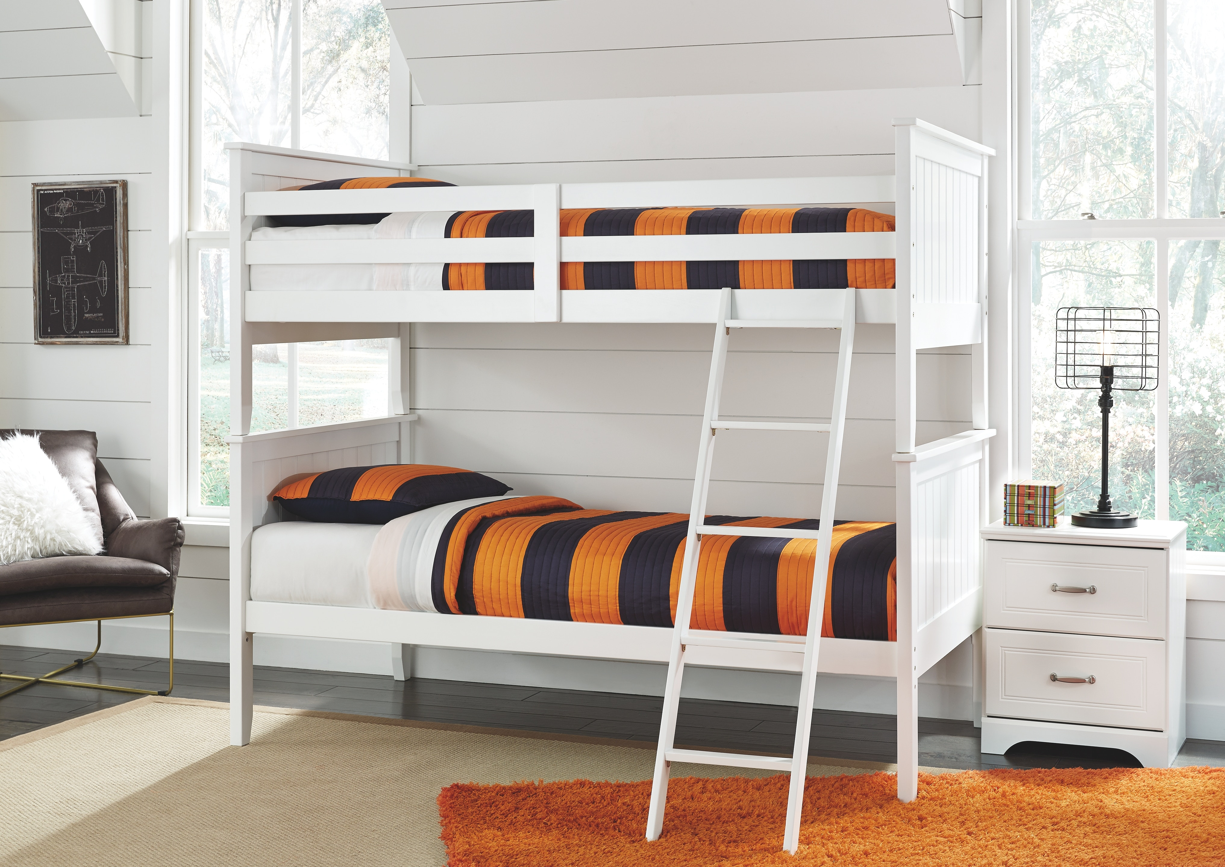 Signature Design By Ashley Twin Twin Bunk Bed Panels On Sale At