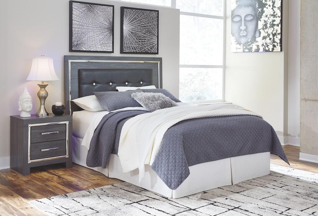 Signature Design By Ashley Bedroom Lodanna Queen Full Upholstered Panel Headboard B214 57