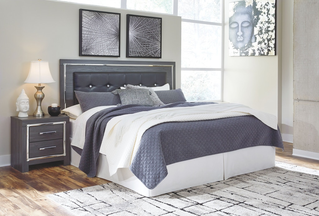Signature Design By Ashley Bedroom Lodanna King California King Upholstered Panel Headboard B214 58