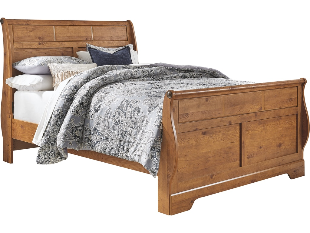Signature Design By Ashley Bedroom Bittersweet Queen Sleigh Bed B219b43 Furniture Market