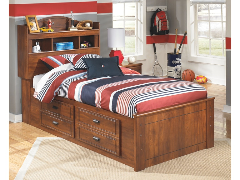 Ashley Youth Twin Bookcase Captains Bed Pk B228 Tw Evans Furniture Galleries Chico Yuba