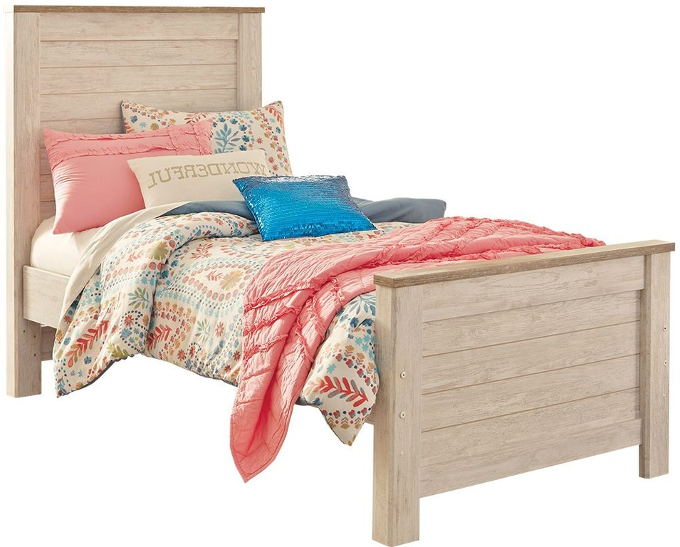 Signature Design By Ashley Bedroom Willowton Twin Panel Bed B267b15 Capital Discount Furniture