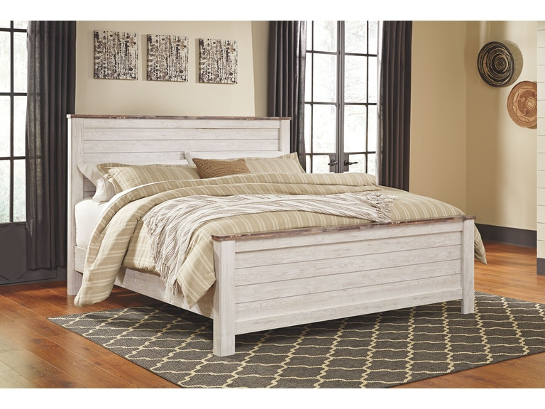 Signature Design By Ashley Bedroom Kingcal King Panel Footboard