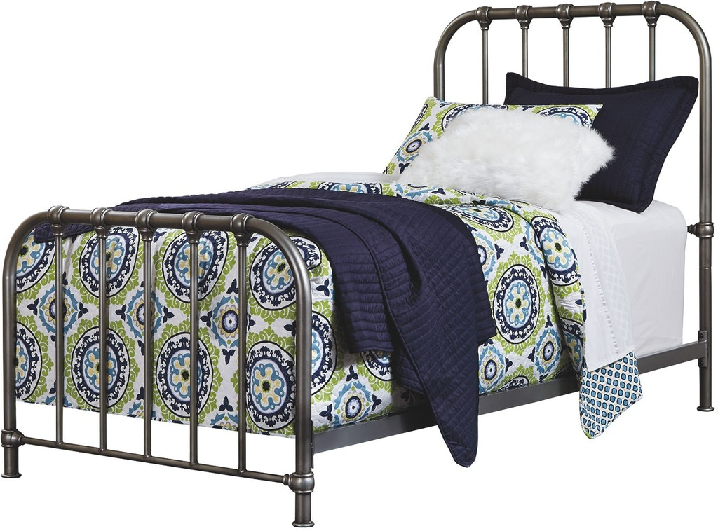 Signature Design By Ashley Bedroom Nashburg Twin Metal Bed
