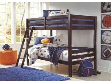 Signature Design by Ashley Twin/Twin Bunk Bed w/Ladder B328-59