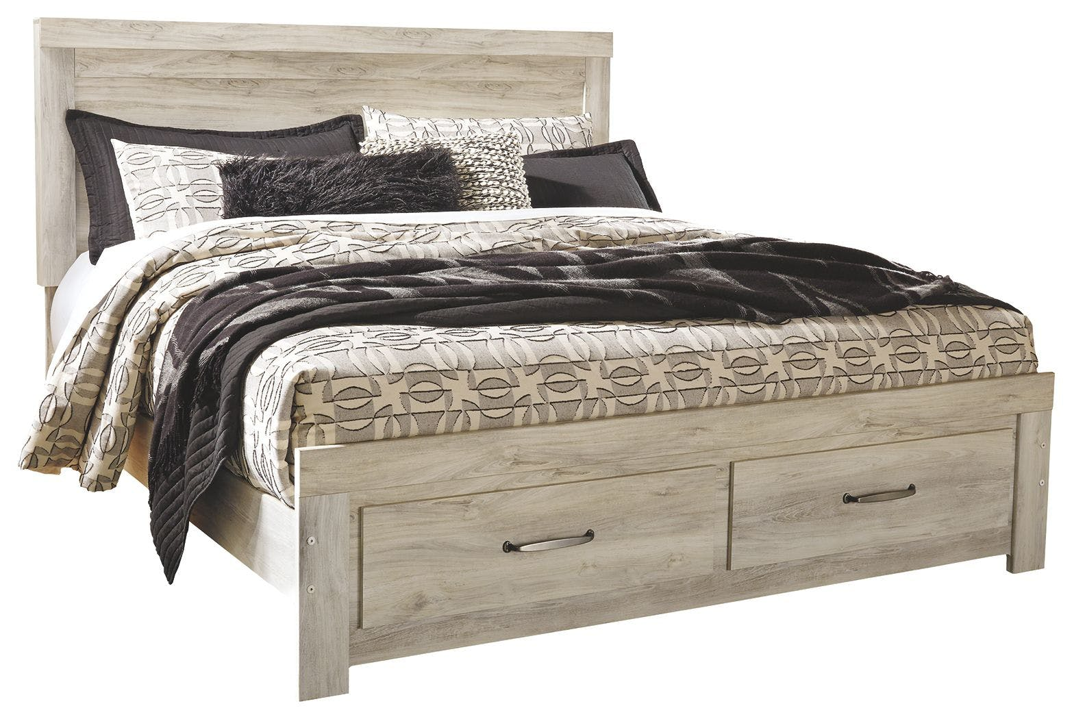 Signature Design By Ashley Bedroom Bellaby King Platform Bed With 2 Storage Drawers B331b9
