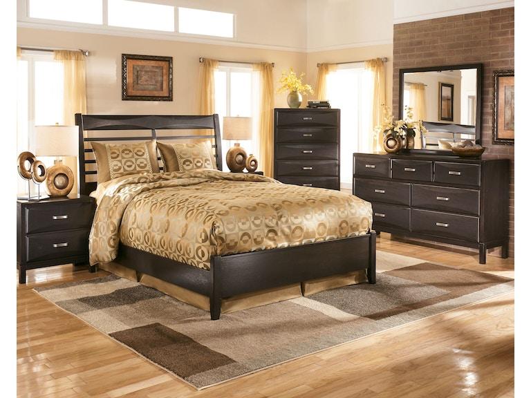 Ashley Bedroom Two Drawer Night Stand B473 92 Art Sample