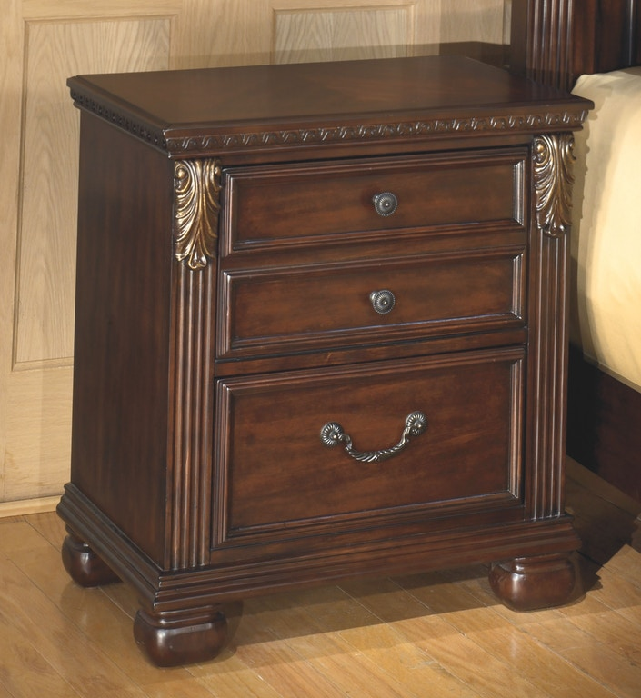 Signature Design By Ashley Bedroom Two Drawer Night Stand B526 92 China Towne Furniture