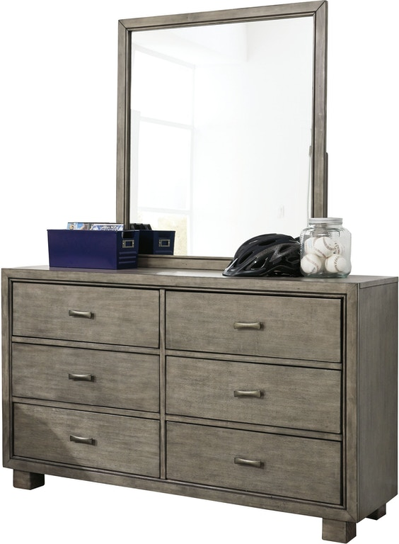 Signature Design By Ashley Bedroom Arnett Dresser And Mirror