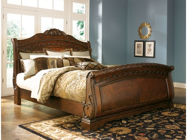 Millennium North Shore Sleigh Bed (King) B553-KING BED