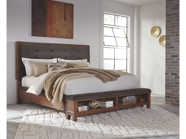 Signature Design By Ashley Bedroom Kck Uph Storage Footboard B594