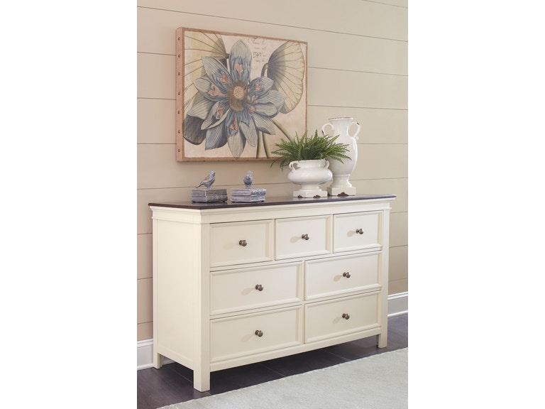 Signature Design By Ashley Woodanville 5 Pc King Bedroom Set On Sale At Elgin Furniture Stores