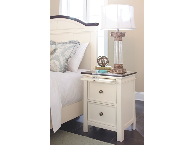 Signature Design By Ashley Bedroom Two Drawer Night Stand Frazier