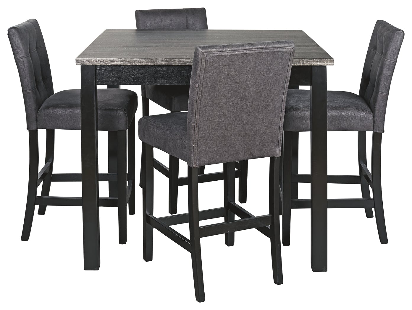 Picture of: Signature Design By Ashley Bar And Game Room Garvine Counter Height Dining Room Table And Bar