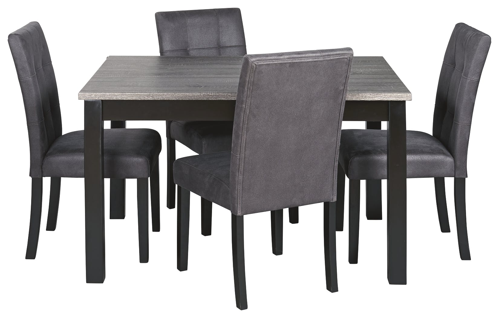 Picture of: Signature Design By Ashley Garvine Dining Room Table And Chairs Set Of 5 D161 225 Markson S