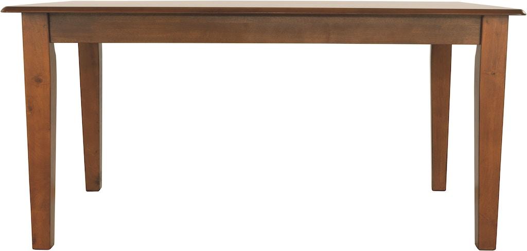 Ashley Berringer Dining Room Table D199 25 Sides