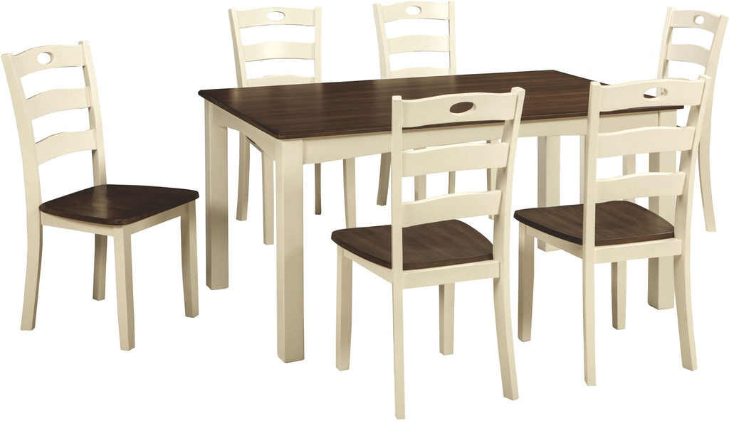 Signature Design by Ashley Woodanville Dining Room Table and