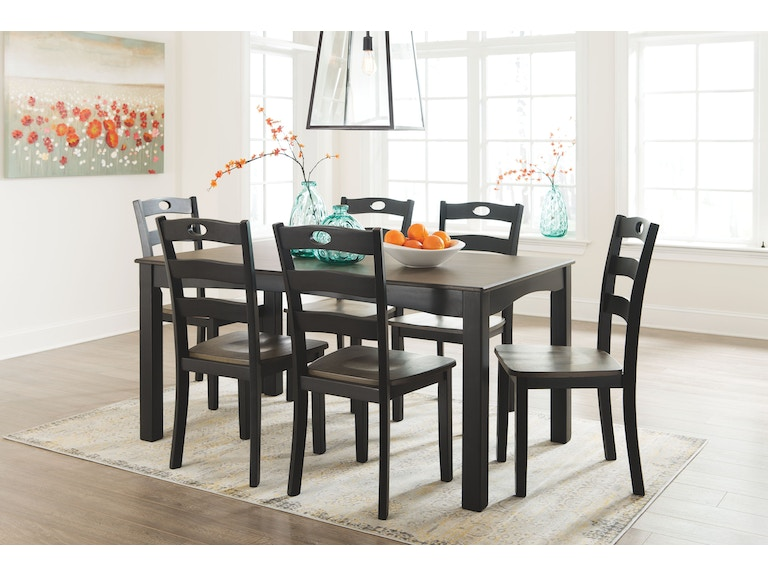 Froshburg 7pc Dining Room Table Set