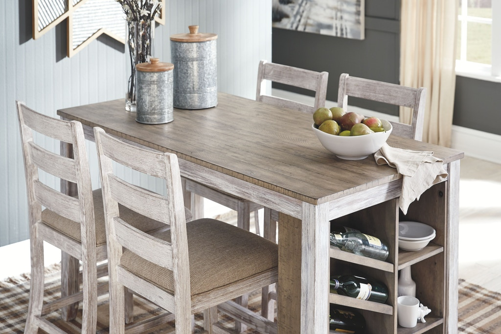 Ashley Skempton Counter Height Dining Room Table D394 32