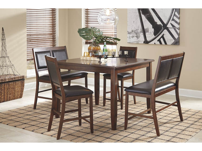 Signature Design By Ashley DRM Counter Table Set 5 CN D395 323