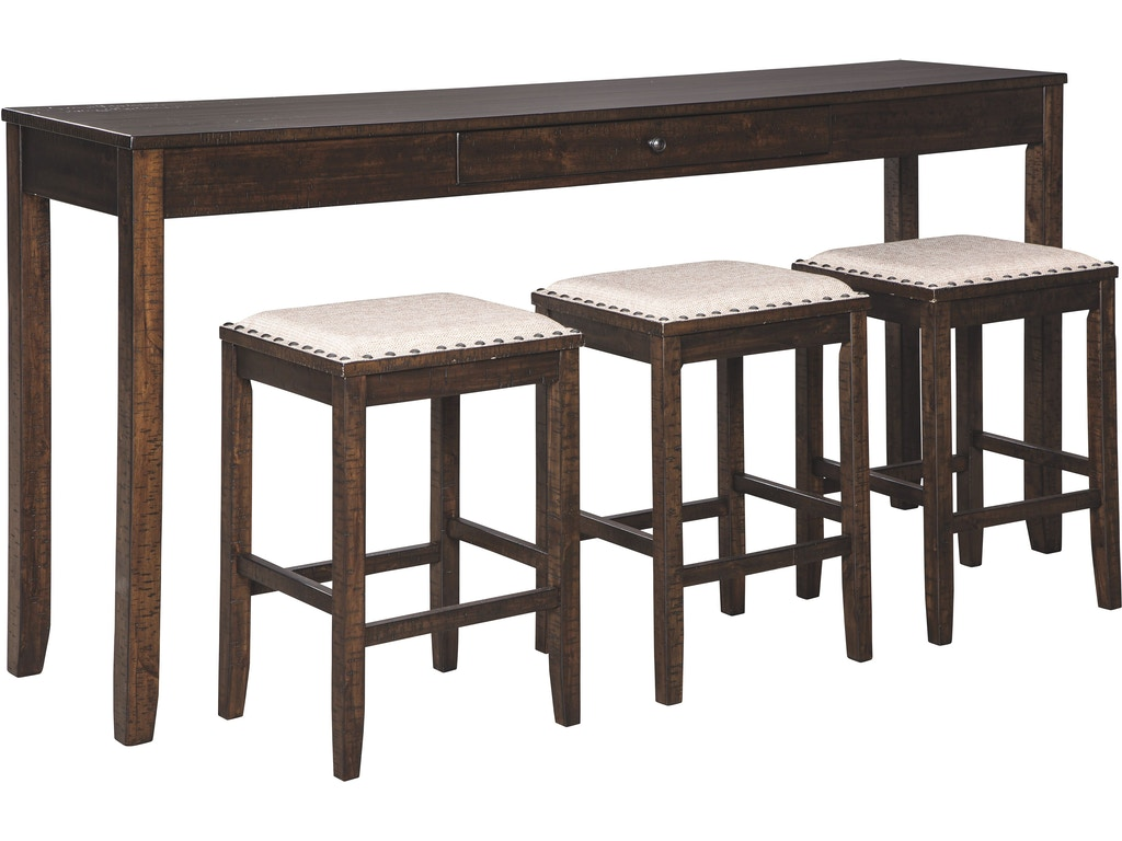 Fantastic Signature Design By Ashley Rokane Counter Height Dining Room Lamtechconsult Wood Chair Design Ideas Lamtechconsultcom