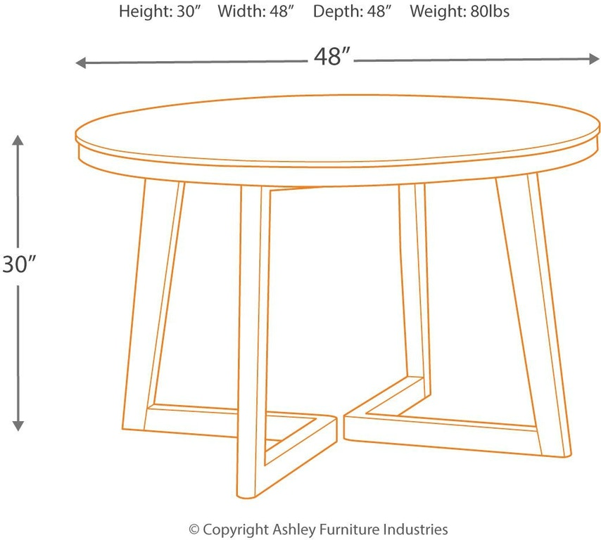 Signature Design By Ashley Besteneer Formal Dining Room: Signature Design By Ashley Besteneer Dining Room Table