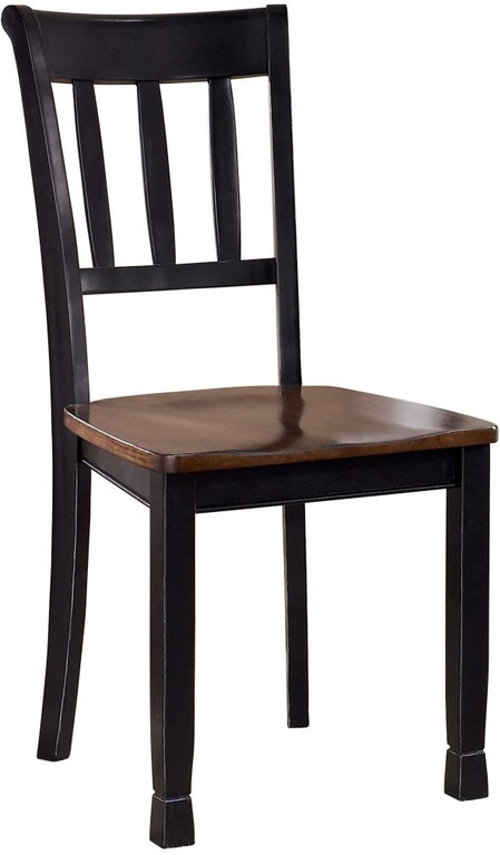 Signature Design By Ashley Owingsville Dining Room Chair D580 02 Markson S Furniture Rochester