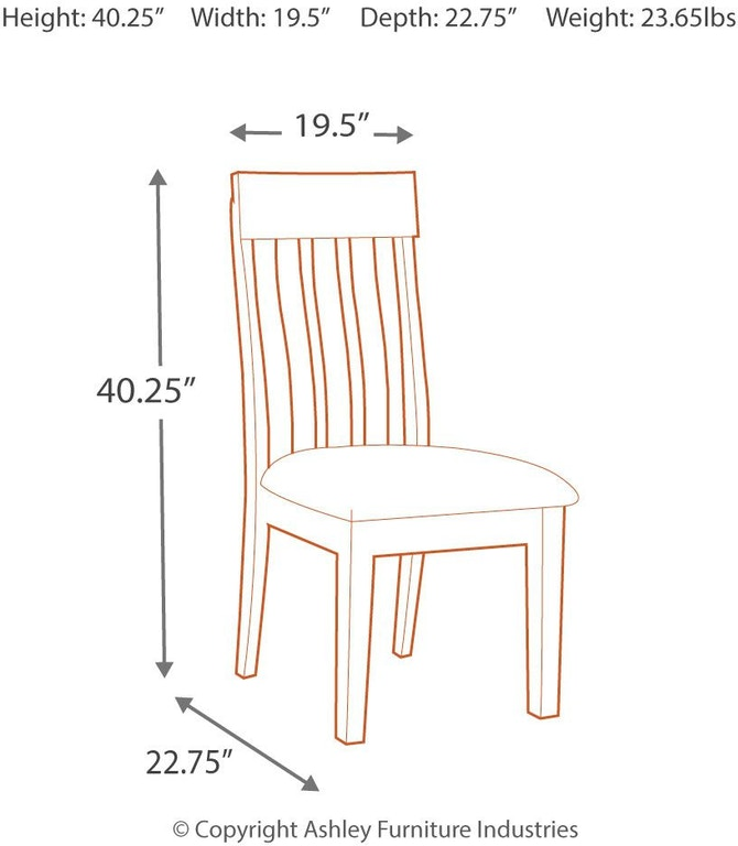 Signature Design By Ashley Ralene Dining Room Chair D594