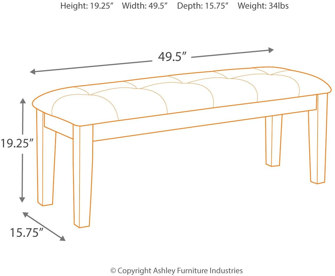 Ashley Furniture Haddigan Dining Set