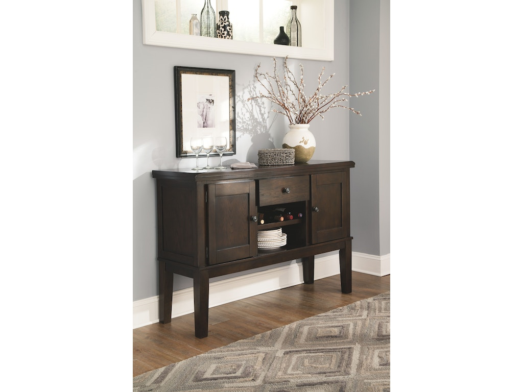 Signature design by ashley dining room server d596 60 for Furniture yuba city