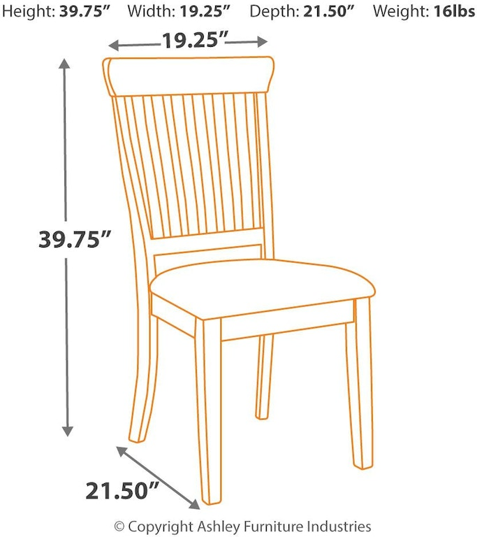 Danbeck Dining Chair: Signature Design By Ashley Danbeck Dining Room Chair D603