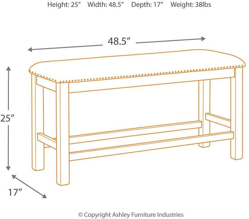 Terrific Signature Design By Ashley Moriville Counter Height Dining Ncnpc Chair Design For Home Ncnpcorg