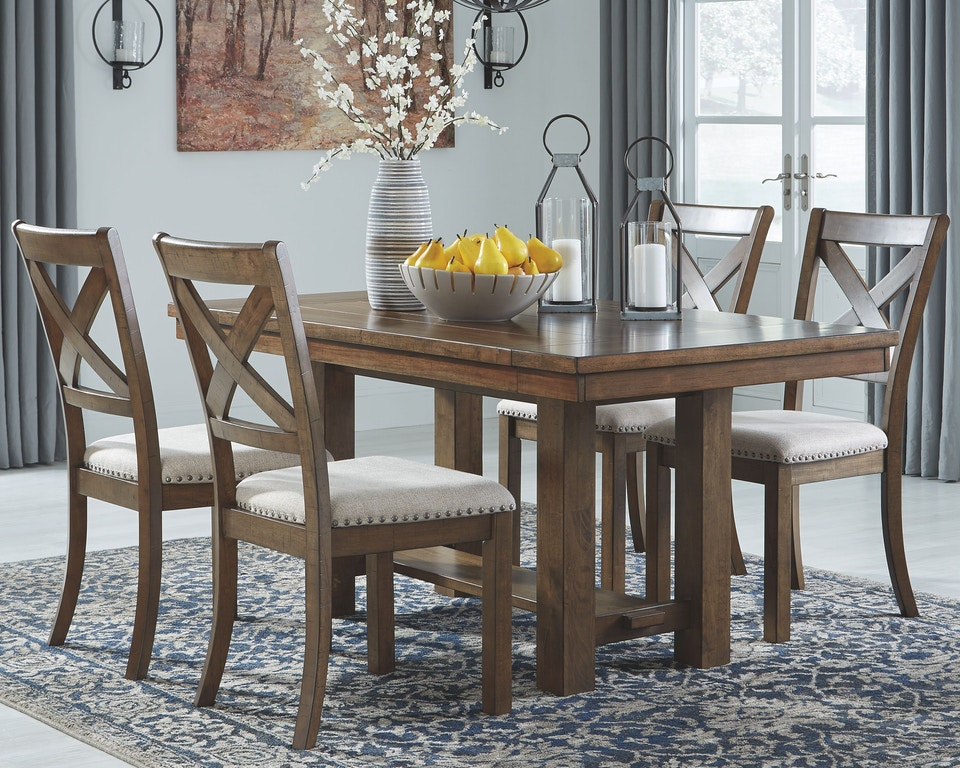 Phenomenal Signature Design By Ashley Moriville Dining Room Extension Ncnpc Chair Design For Home Ncnpcorg