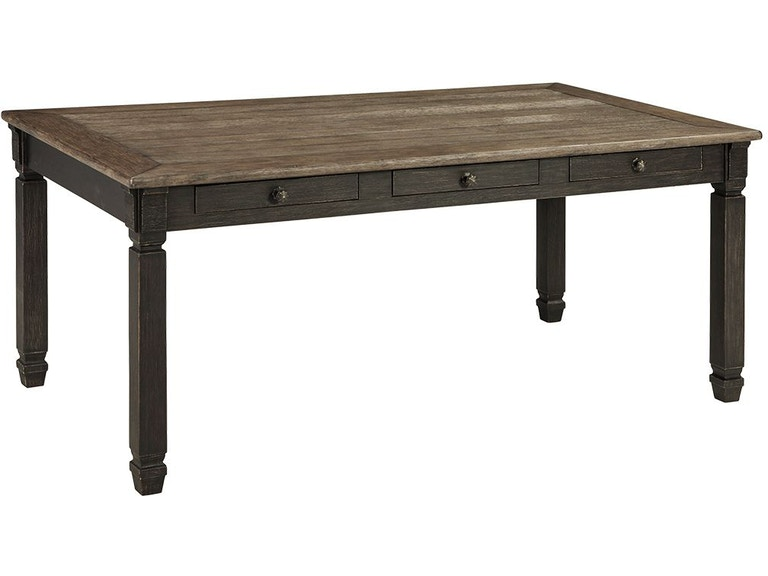 Signature Design By Ashley Tyler Creek Dining Room Table D736 25 Blockers Furniture Ocala Fl