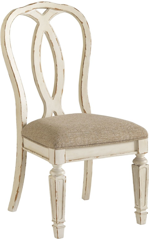 Outstanding Signature Design By Ashley Realyn Dining Room Chair Skaff Short Links Chair Design For Home Short Linksinfo