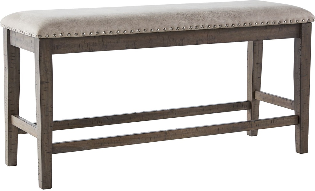 Incredible Benchcraft Johurst Counter Height Dining Room Bench Machost Co Dining Chair Design Ideas Machostcouk