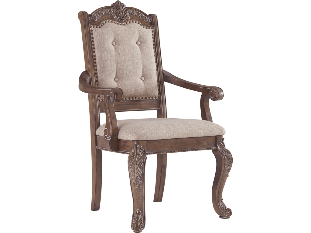 Signature Design By Ashley Charmond Dining Room Chair D803 01a T H Perkins Furniture