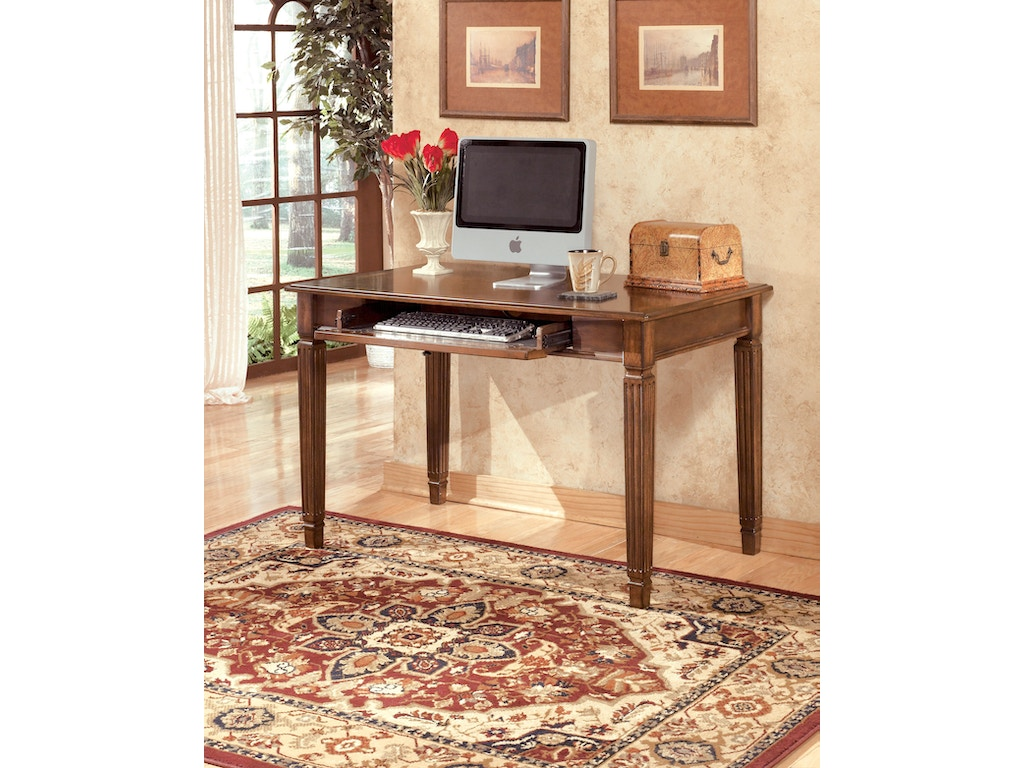 signature design by ashley home office small leg desk h527. Black Bedroom Furniture Sets. Home Design Ideas
