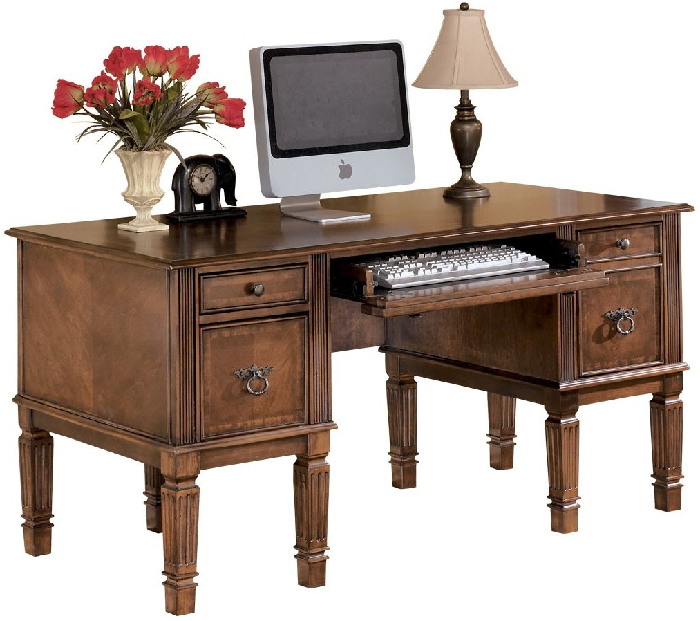 "Signature Design By Ashley Hamlyn 60"" Home Office Desk"