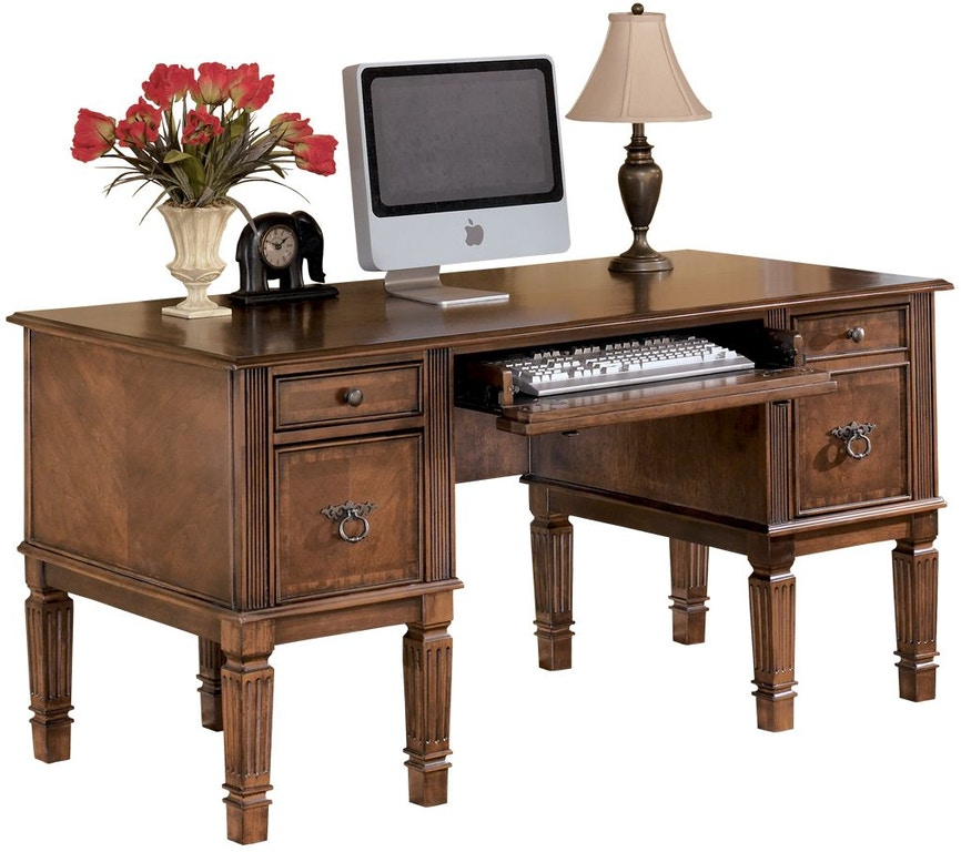 "Ashley Furniture Texarkana: Signature Design By Ashley Hamlyn 60"" Home Office Desk"