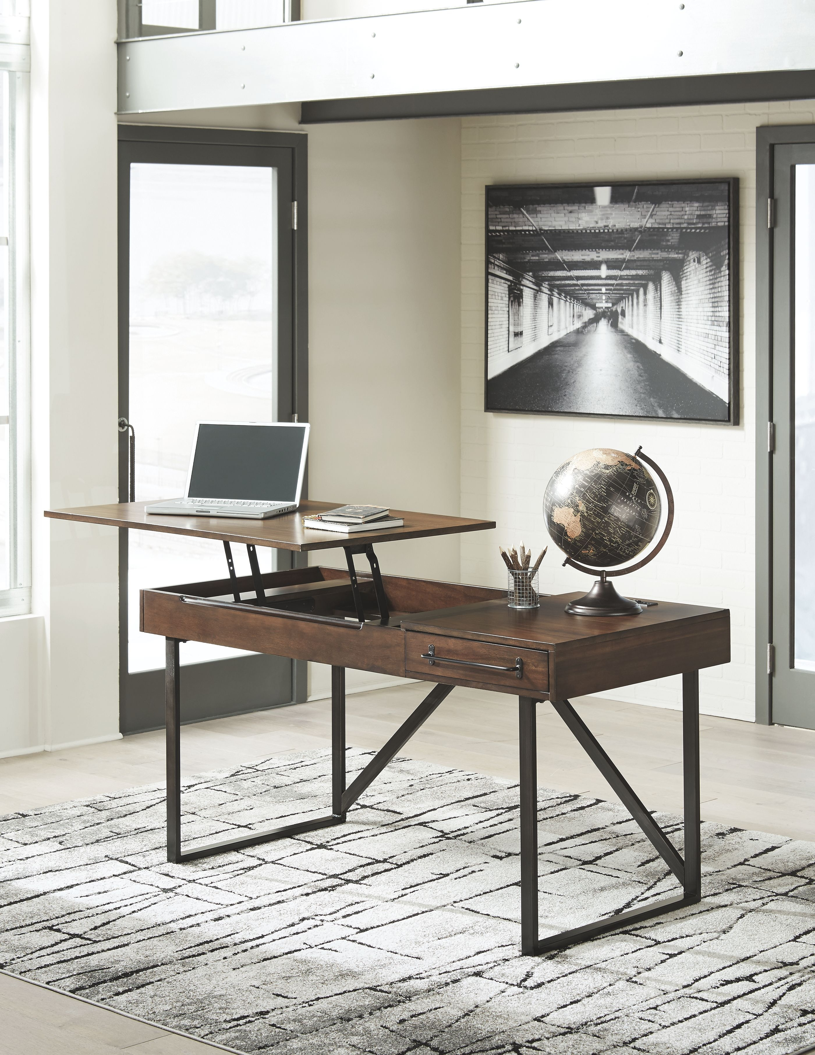Signature Design By Ashley Home Office Lift Top Desk H633 134
