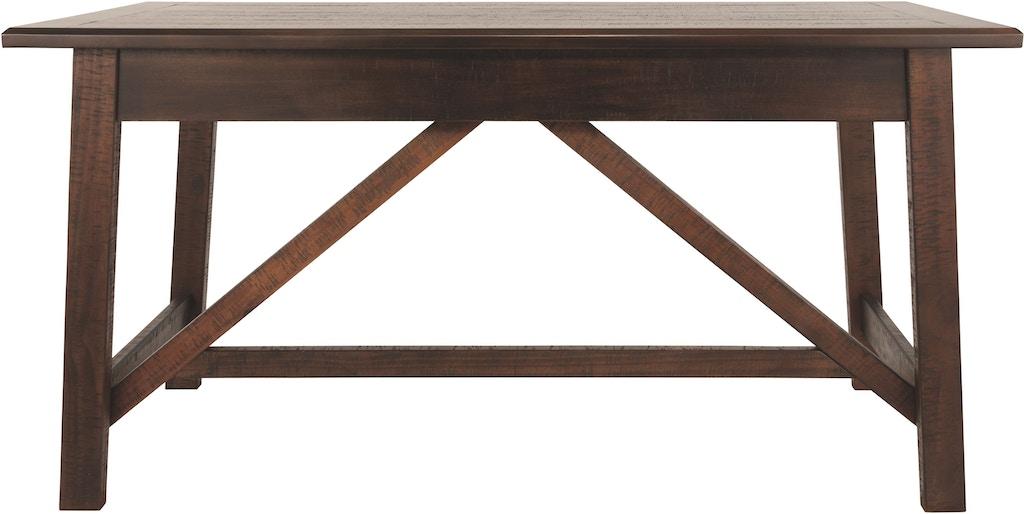 new concept 87bc6 b49eb Signature Design by Ashley Baldridge Home Office Desk H675 ...
