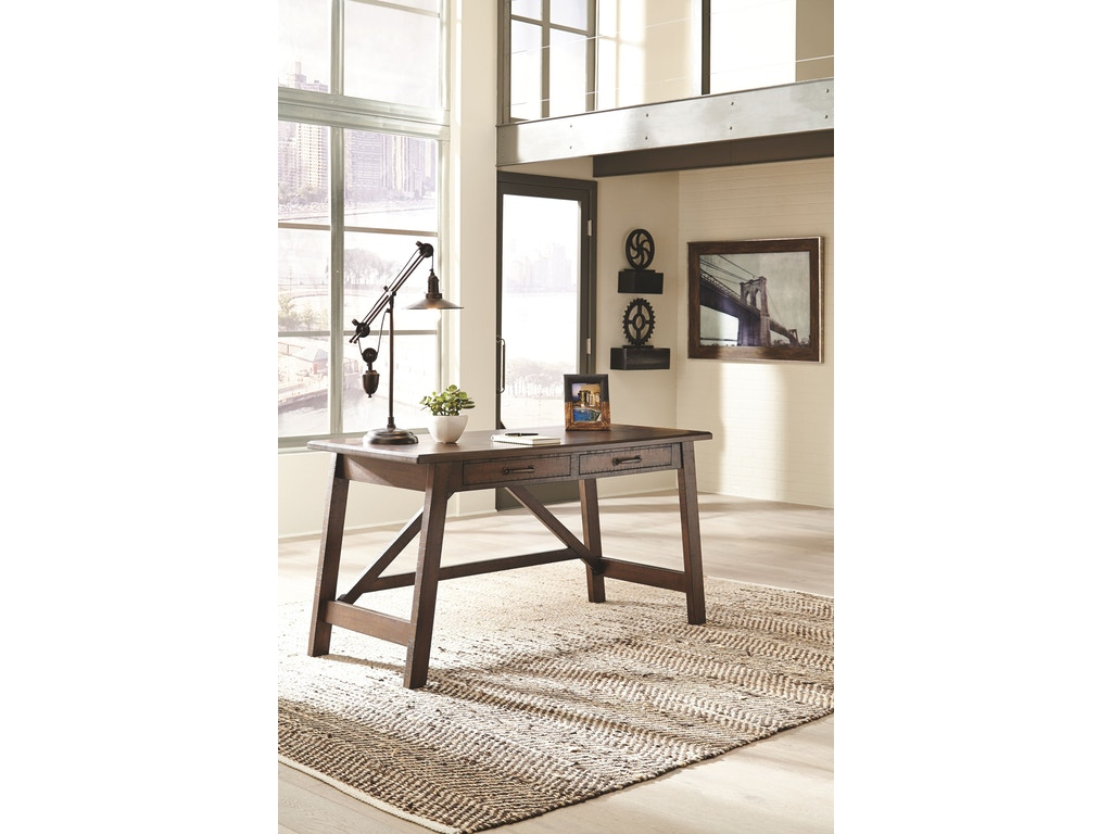 Signature Design By Ashley Home Office Large Leg Desk H675 44 New Look Furniture Lake